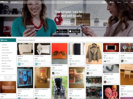 OfferUp, l'app qui ringardise eBay et Craigslist