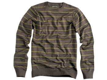 pull à rayures jules, collection green mood
