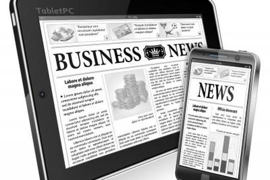 Les potentiels d'évolution des revenus des médias d'actualité résumés dans une matrice