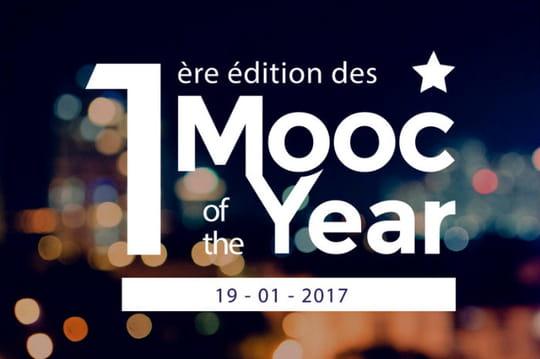 """La cérémonie """"Mooc of the Year"""" aura lieu le 19janvier 2017"""