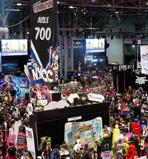 la new york comics convention est l'une des manifestations organisées parreed