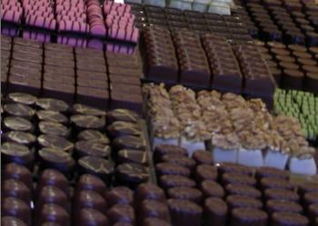 la france a exporté près de 300.000 tonnes de chocolaterie en 2007.