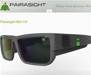 ces lunettes permettent de prendre de prendre des vidéos en 3d.