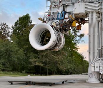 l'injecteur de carburant à l'intérieur de ce réacteur leap a été fabriqué par