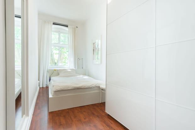 L'appartement d'Angela Merkel à Berlin (Allemagne)