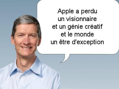 tim cook, le patron d'apple, le 5 octobre 2011.