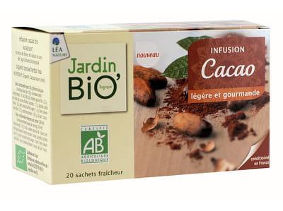 l'infusion au cacao de léa nature.