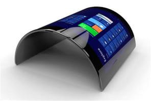 Samsung lance son smartphone à écran OLED incurvé