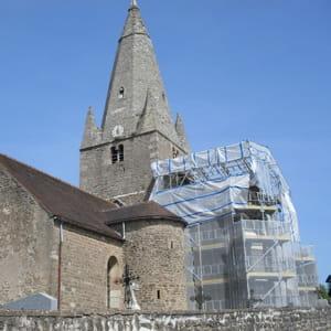 l'église de thoisy-le-désert, en côte d'or, est rénovée pour 150 000 € dans le