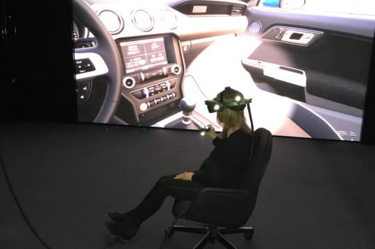 Immersion dans le laboratoire de réalité virtuelle de Ford, à Détroit
