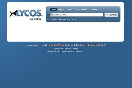 Lycos en 2009