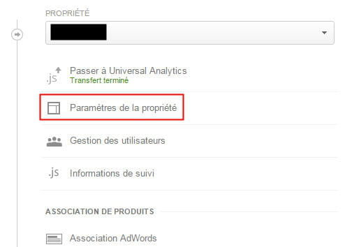 Google analytics comment supprimer une propri t for Supprimer les vers