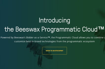 Beeswax surfe sur l'internalisation de l'achat programmatique