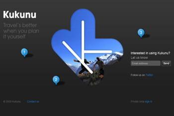 la page d'accueil de kukunu