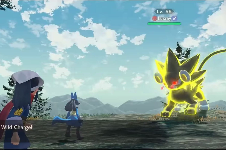 Switch: de nouvelles images de l'ambitieux Pokémon Arceus