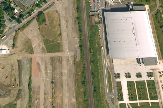 Pompidou Metz en 2006...