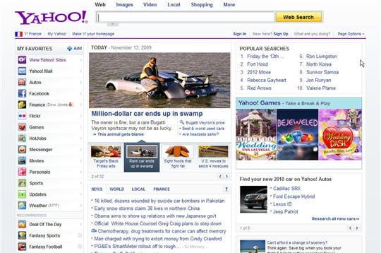 Yahoo en 2009