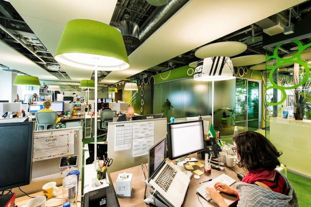 Des bureaux aux accents écolos