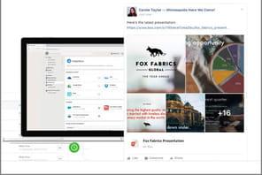 FacebookWorkplace s'équipe d'une solution de visio pour contrer Zoom