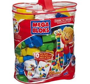 les mega bloks de la marque ont longtemps concurrencé lego.