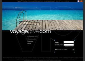 page d'accueil voyage privé
