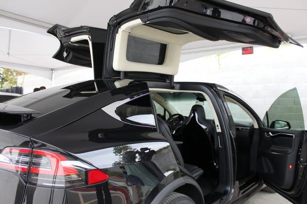 La Model X offre une expérience incroyable