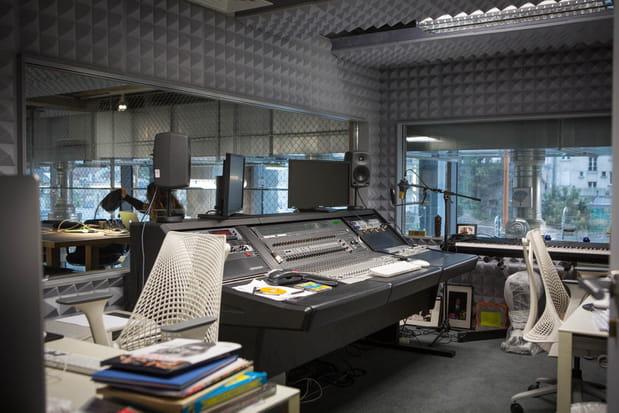 Des studios dédiés à la création
