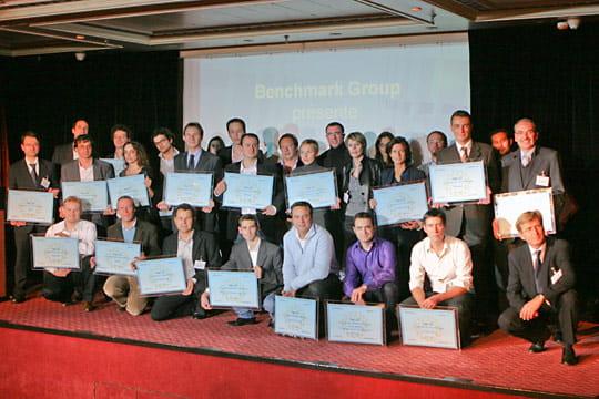La photo de groupe des lauréats