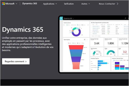 Microsoft dote Dynamics 365d'une région cloud basée en France