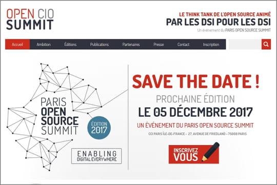 L'Open CIO Summitse tiendra le 5décembre