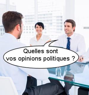 quelles sont vos opinions politiques?