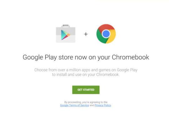 Les apps Android semblent bien arriver sur les Chromebooks