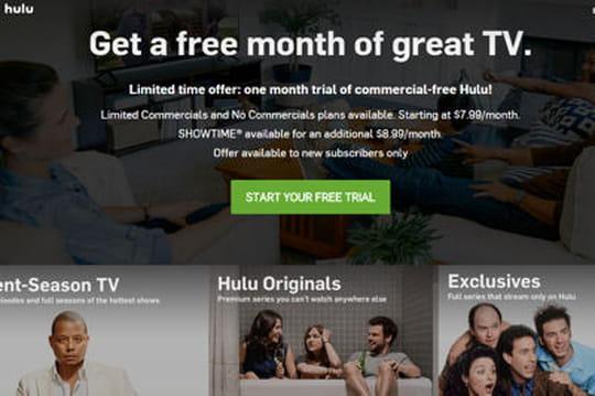 """Les revenus d'Hulu boostés par le lancement de son service """"sans pub"""""""