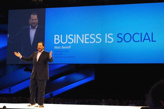 Salesforce fête 15ans de succès sans faille