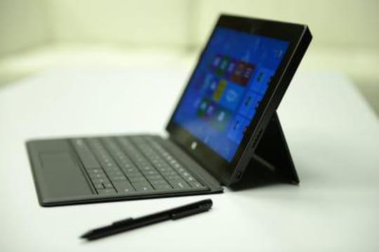 Les tablettes Surface de Microsoft mises à jour