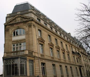 le siège de pernod-ricard à paris.