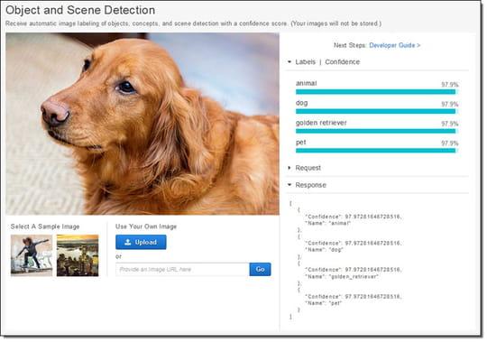Amazon dévoile sa plateforme cloud d'intelligence artificielle et de bot