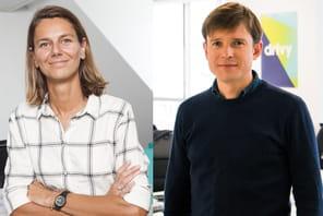 Marion Carrette (OuiCar) et Paulin Dementhon (Drivy):Drivy vs OuiCar: le match de l'autopartage français