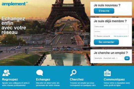 Amplement lève un million d'euros pour concurrencer Linkedin et Viadeo