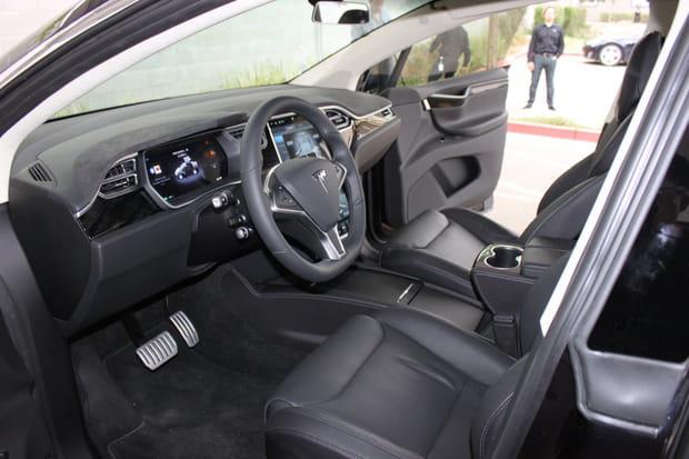 La Model X présente un intérieur design