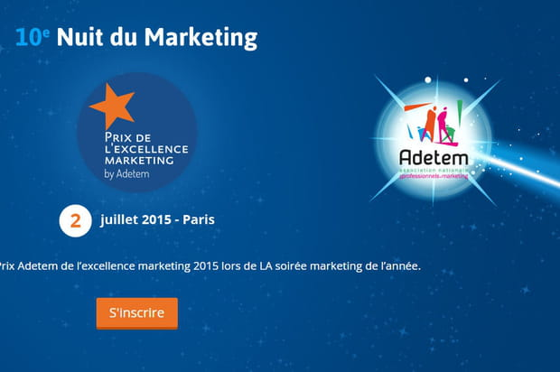 Nominés excellence marketing Adetem 2015