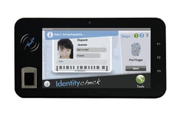 la tablette biométrique taztag tazpad 3.