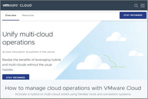 Comment VMware se transforme en plateforme de multicloud