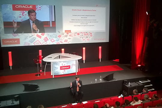 Mark Hurd à Paris pour vendre le cloud Oracle