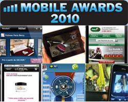la première édition des mobile awards a décerné23 récompensesdans dix