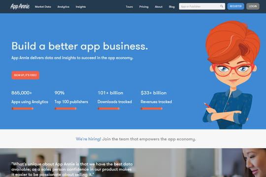 Le spécialiste de la data mobile AppAnnie lève 63 millions de dollars
