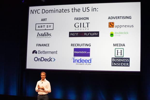 """""""New York est le meilleur écosystème aux Etats-Unis"""""""