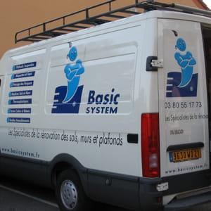un camion du réseau basic system.