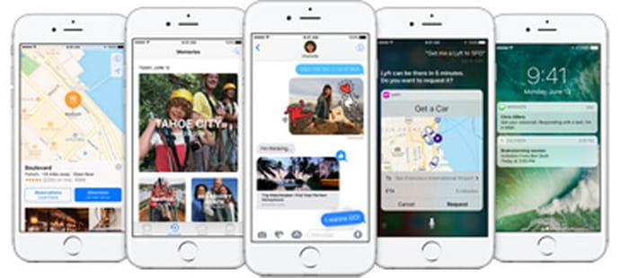 iOS 10 : les nouveautés à retenir