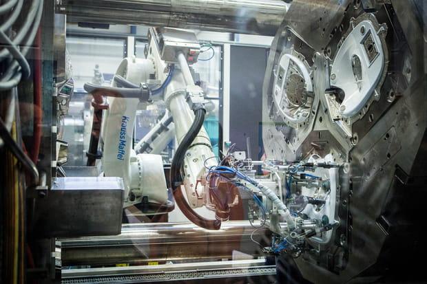 Un processus de production de haute technologie